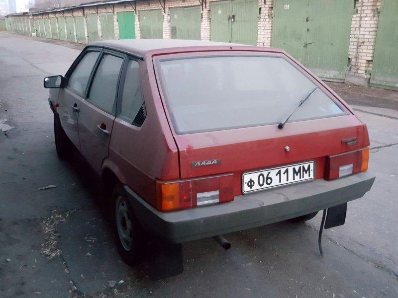 Машина  была куплена в 2017 году за 200 тысяч рублей с пробегом 15 километров. авто, автоваз, автомобили, ваз, ваз 2109, лада, ретро авто, янгтаймер