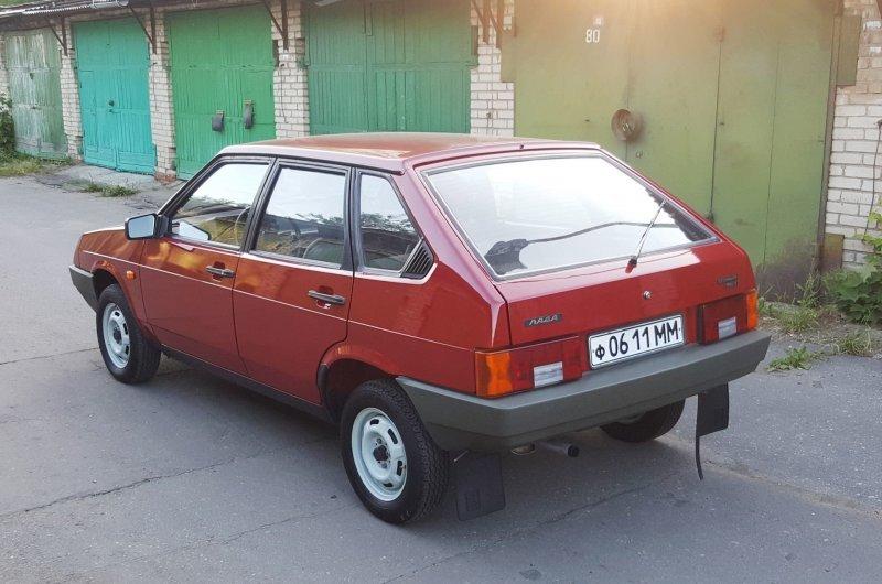 ВАЗ-2109 «Спутник» 1989 года без пробега авто, автоваз, автомобили, ваз, ваз 2109, лада, ретро авто, янгтаймер
