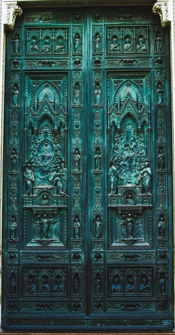 7. Италия doors, Нил Гейман, архитектура, двери, дизайн, красиво, красивые двери, эстет