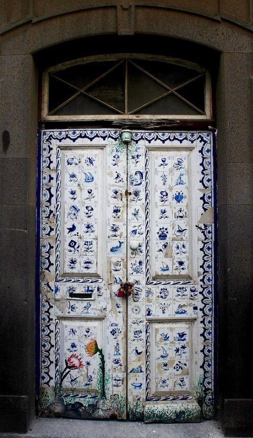 6. Португалия doors, Нил Гейман, архитектура, двери, дизайн, красиво, красивые двери, эстет