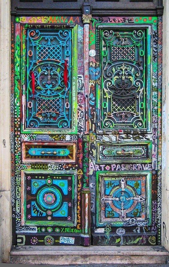 4. Франция doors, Нил Гейман, архитектура, двери, дизайн, красиво, красивые двери, эстет