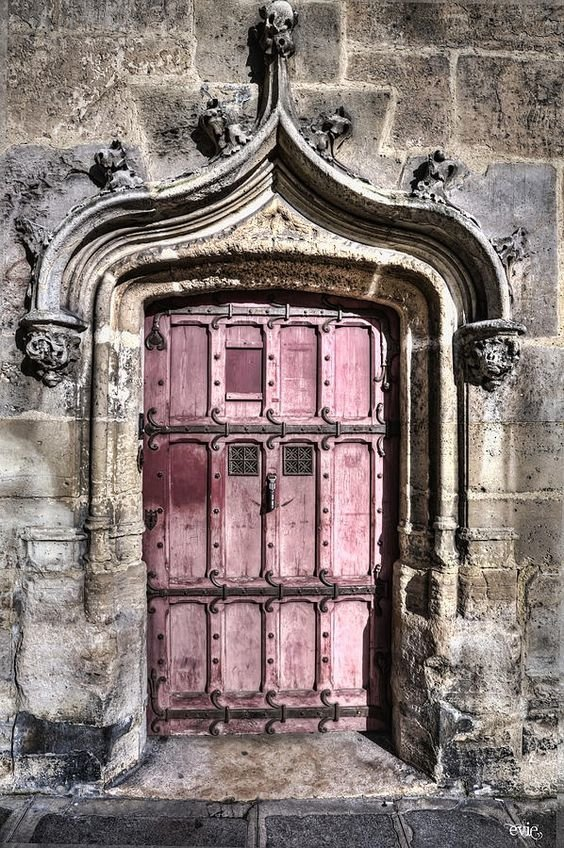 14. Париж doors, Нил Гейман, архитектура, двери, дизайн, красиво, красивые двери, эстет