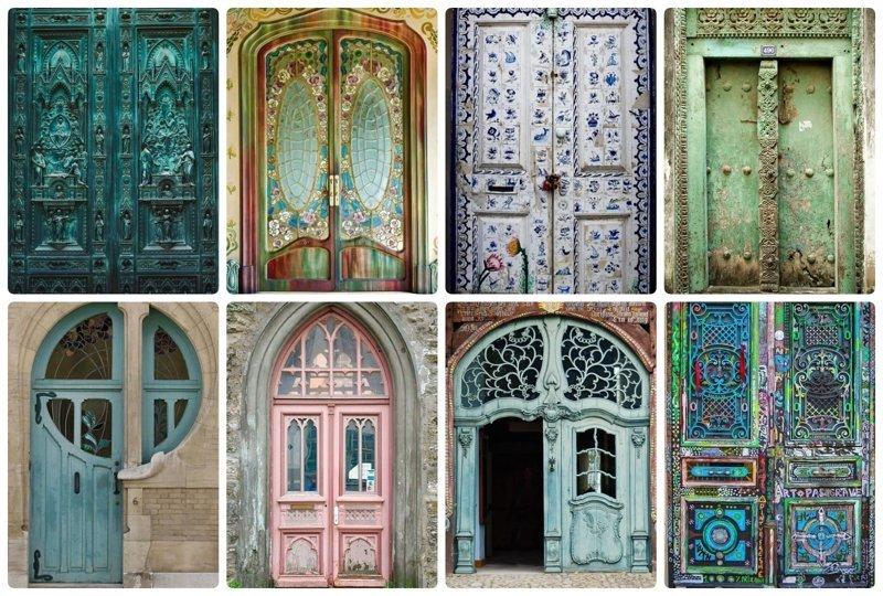 Самые удивительные двери мира, скрывающие тайну doors, Нил Гейман, архитектура, двери, дизайн, красиво, красивые двери, эстет