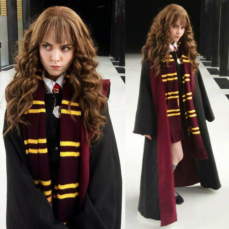 """Гермиона Грейнджер (""""Гарри Поттер"""") Универсальный солдат, девушка, косплей, косплейщики, костюмы, крутая, наряды, персонажи"""