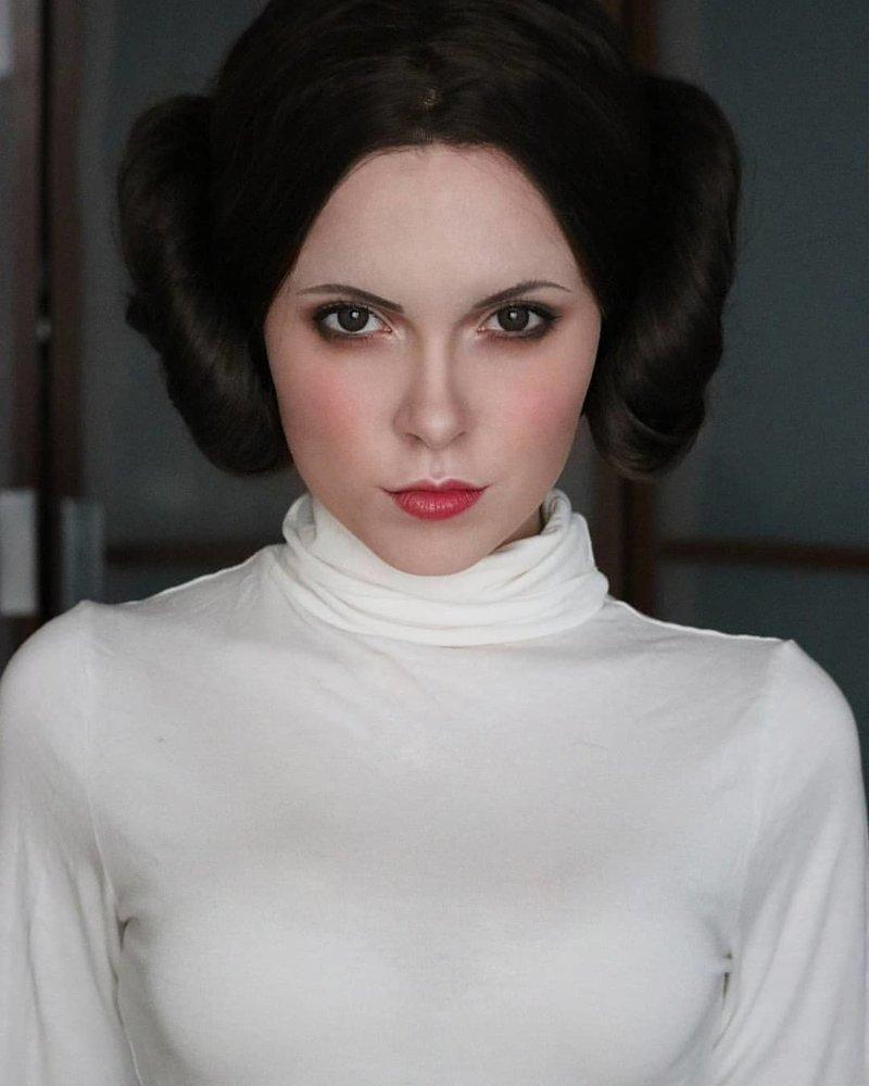 """Принцесса Лея (""""Звездные войны"""") Универсальный солдат, девушка, косплей, косплейщики, костюмы, крутая, наряды, персонажи"""