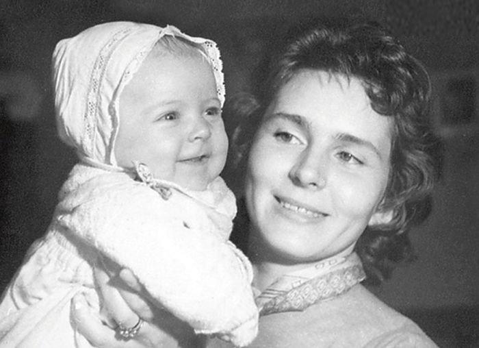Кира Мачульская с дочерью. Юрий Яковлев, актеры, искусство, истории, кино