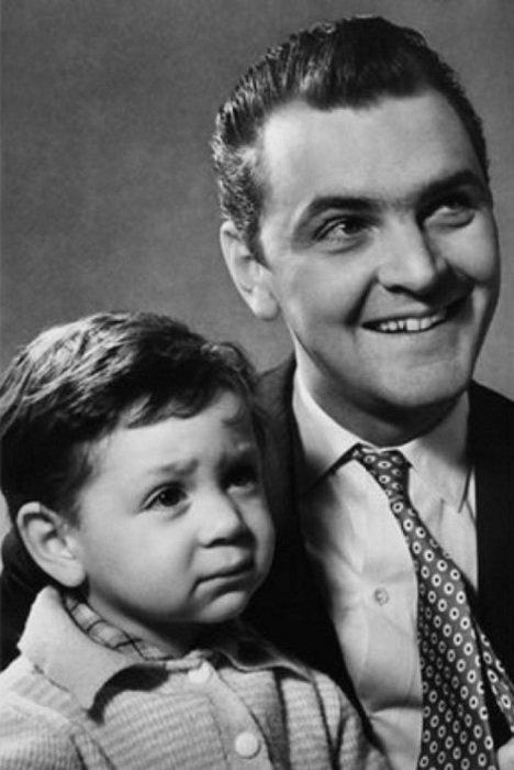Юрий Яковлев с сыном Юрий Яковлев, актеры, искусство, истории, кино