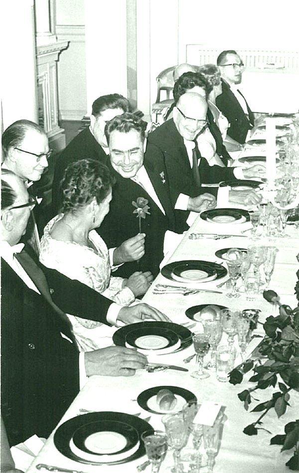 Л.И. Брежнев в Финляндии. 1961 г. Брежнев Л. И., СССР, история