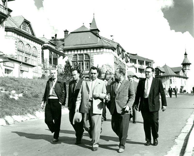 Визит Л.И. Брежнева в Чехословакию. Май. 1959 г. Брежнев Л. И., СССР, история