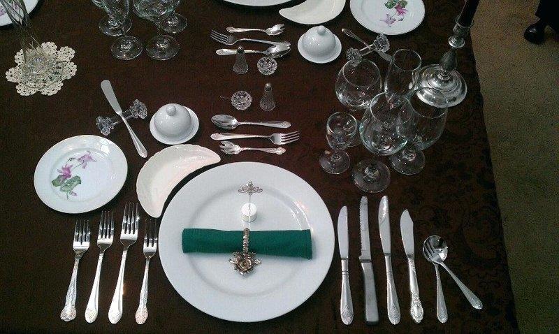4. Сервировка истории, меню, полезные советы, ресторан