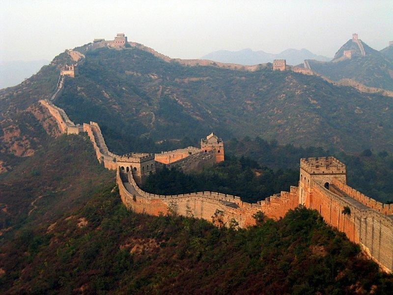 Великая китайская стена — единственный рукотворный объект, видимый из космоса — ложь интересно, любопытно., факты