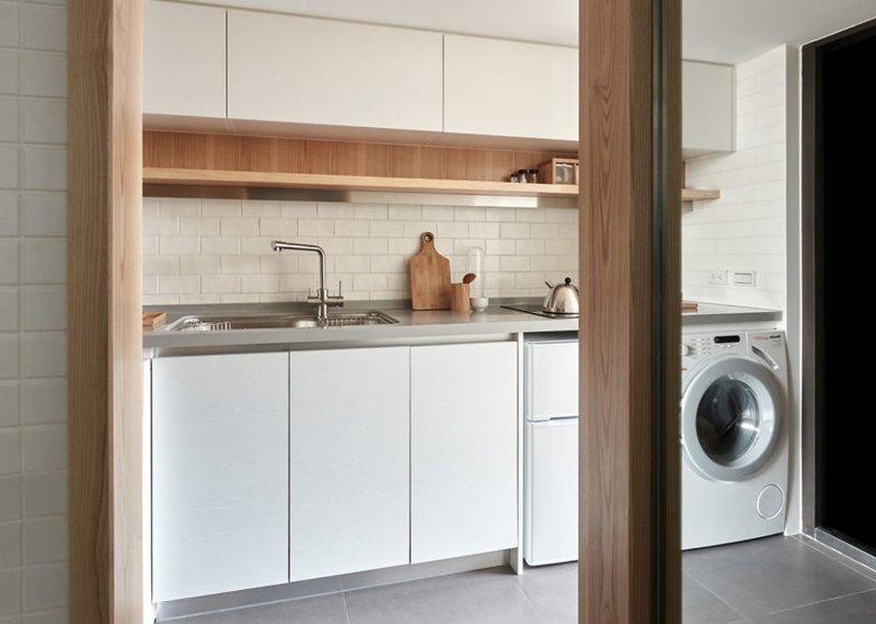 Функциональная кухня дизайн, идея, квартира, комната, планировка, пространство, студия