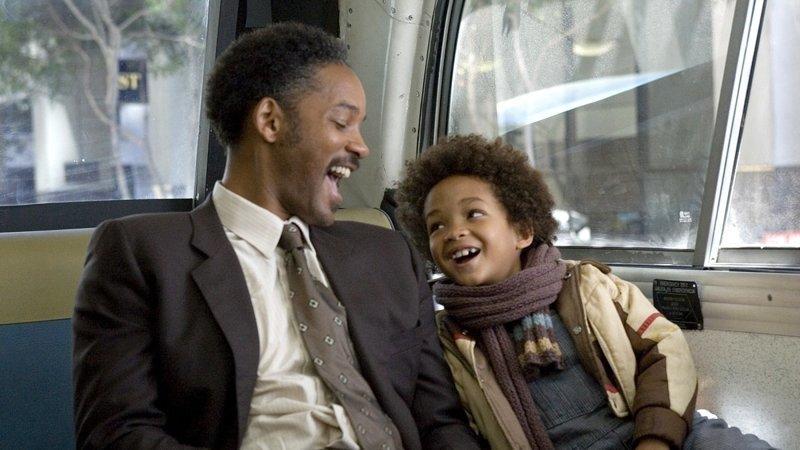 В погоне за счастьем (2007) выходные, залипалово, кино, на реальных событиях, фильмы