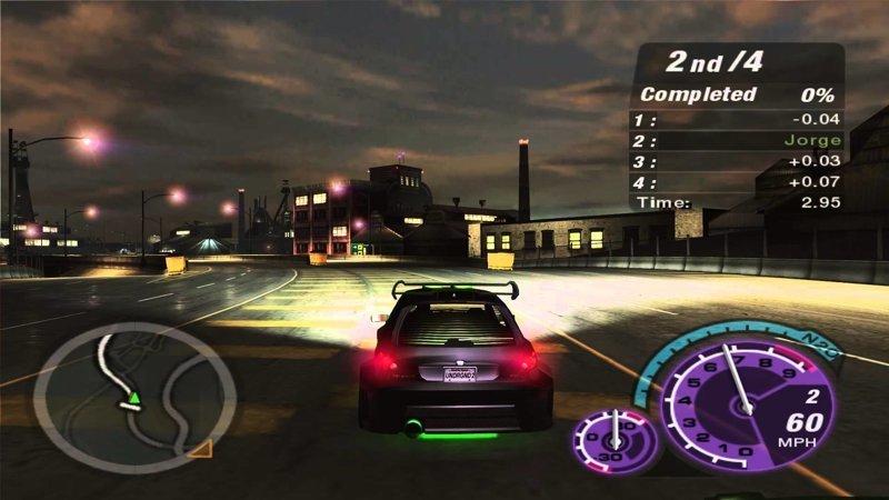 Дилогия «Need For Speed Underground» выходные, залипалово, игры, компьютерные игры, старые игры