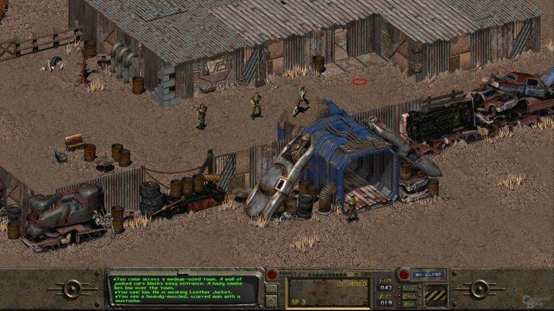 Оригинальная дилогия «Fallout» выходные, залипалово, игры, компьютерные игры, старые игры