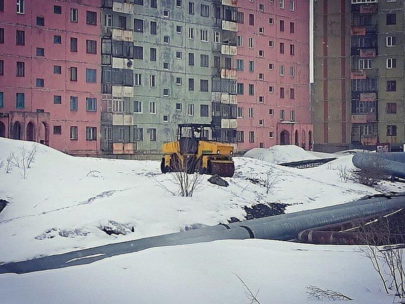 Красноярский край, Талнах Лето-2018, каникулы, соцсети, температура, фото, холодно