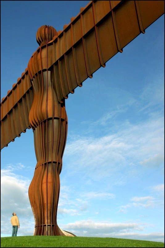 Ангел Севера Скульптуры, гигантизм, инсталляции, искусство, невероятное, удивительное