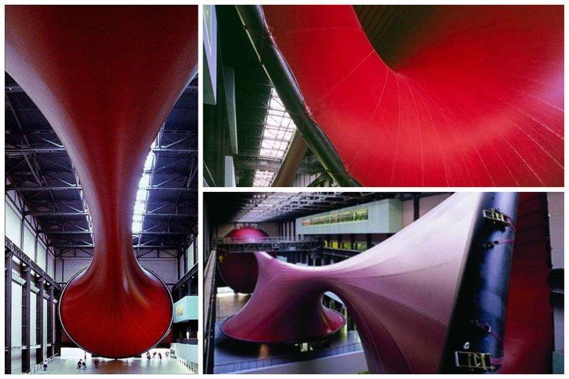Один из самых знаменитых любителей гигантизма Аниш Капур Скульптуры, гигантизм, инсталляции, искусство, невероятное, удивительное