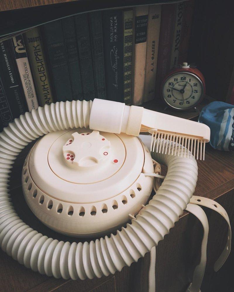 3. Еще шапочку надеть и сушить так волосы антиквариат, вещи из СССР, интересно, память, угадайка