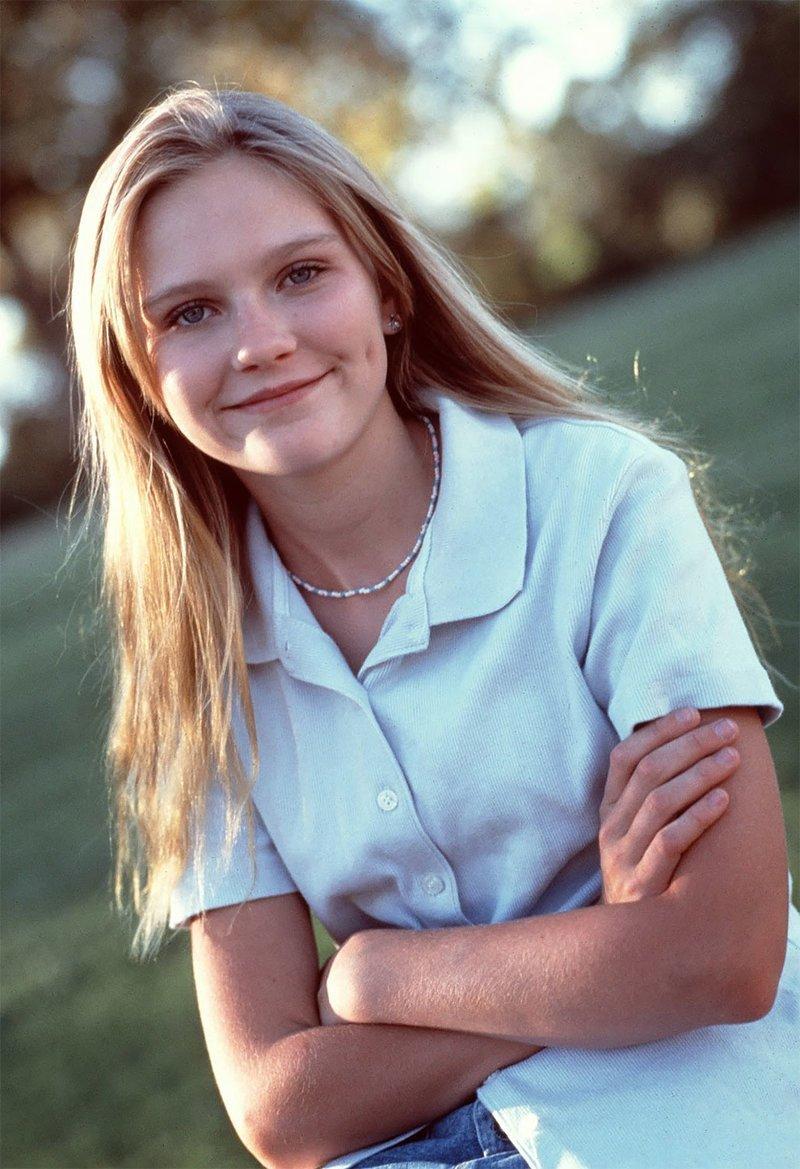 Прекрасная Кирстен Данст в 1995 году Кирстен Данст, актриса, знаменитости, кино, красота