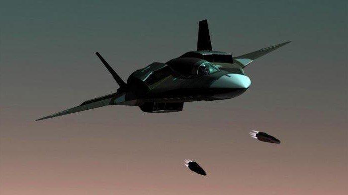"""АТН-51 """"Черная чума"""" - новейший российский истребитель разработка, россия, самолеты"""