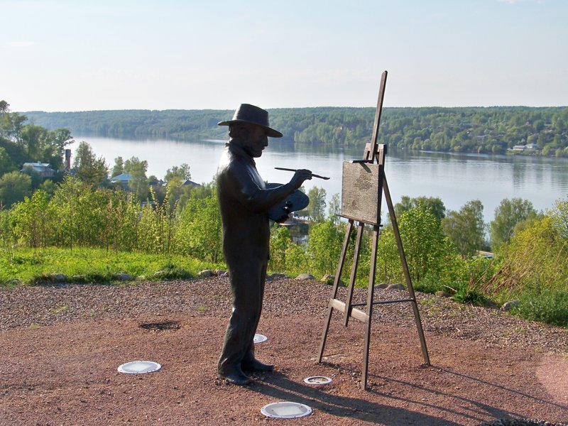 Городок прославился благодаря художнику Левитану, который часто рисовал Плес на своих картинах Города России, Плёс, ивановская область, красивые города, пейзажи, путешествия, россия