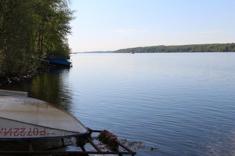 Волга здесь имеет ширину 700 метров Города России, Плёс, ивановская область, красивые города, пейзажи, путешествия, россия