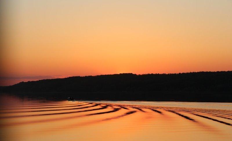 Река течет словно ткань Города России, Плёс, ивановская область, красивые города, пейзажи, путешествия, россия