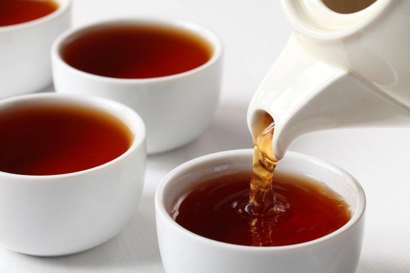 9. Черный чай антиоксиданты, витамины, каши, ликопин, польза, сочетание продуктов