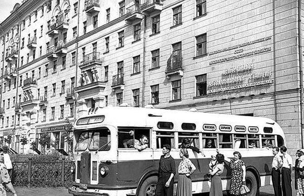 Междугородний маршрут Москва — Харьков — Симферополь — Ялта, 1960‑е автобус, автомир, железная дорога, интересное, история, крым, трамвай, троллейбус