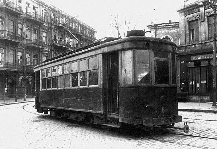 Трамвай. Севастопольский трамвай. 1941 г. автобус, автомир, железная дорога, интересное, история, крым, трамвай, троллейбус