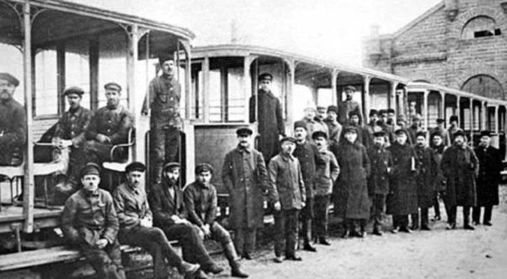 Крымский наземный транспорт - исторический экскурс автобус, автомир, железная дорога, интересное, история, крым, трамвай, троллейбус