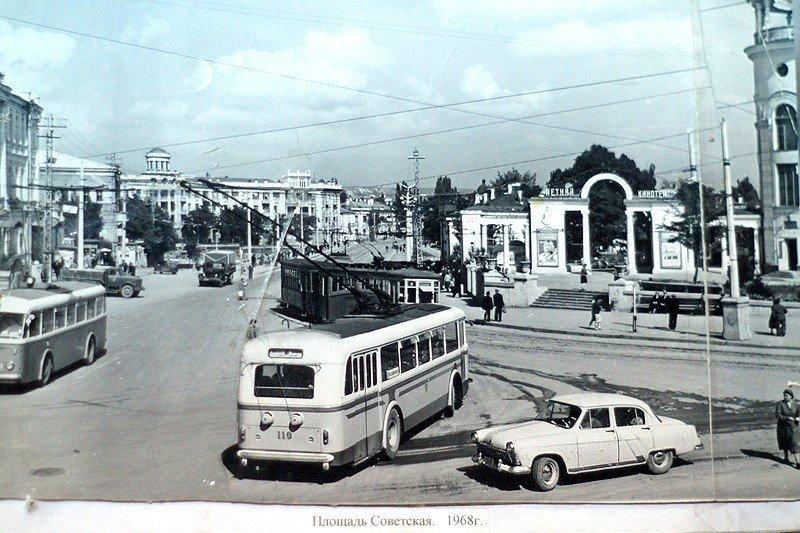 Трамваи Симферополя автобус, автомир, железная дорога, интересное, история, крым, трамвай, троллейбус