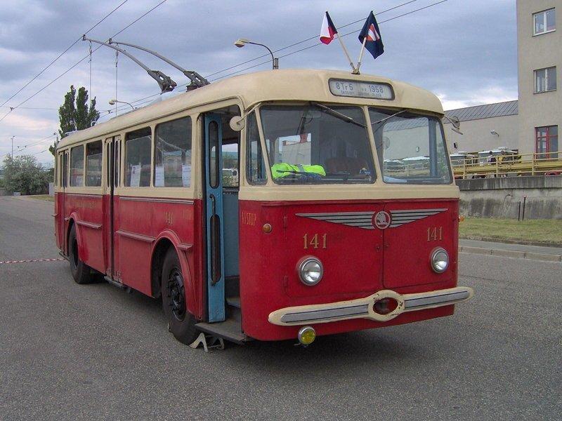 Один из первых 8Tr автобус, автомир, железная дорога, интересное, история, крым, трамвай, троллейбус