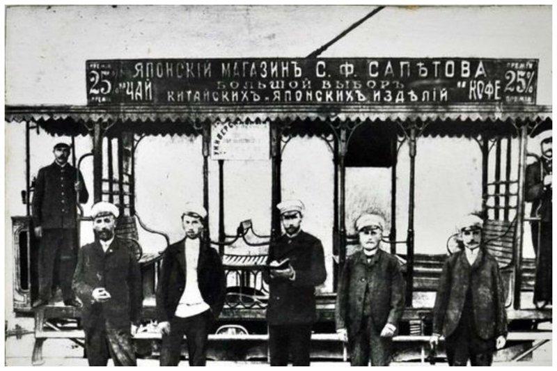 Севастопольский трамвай. 1898 г. автобус, автомир, железная дорога, интересное, история, крым, трамвай, троллейбус
