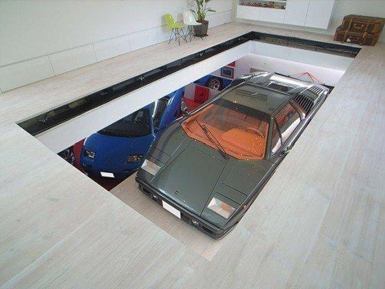«Гараж-трансформер» KRE-House в Токио Фабрика идей, автомир, гаражи. навесы, решения