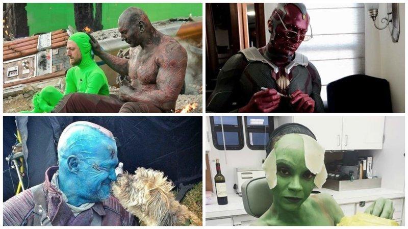 35 закадровых фотографий со съемок фильмов Marvel Marvel Avengers Assemble, Marvel Comics, За кадром известных фильмов, за кадром, мстители на сьемках, мстители смешные моменты, съемочная площадка, съёмки фильма