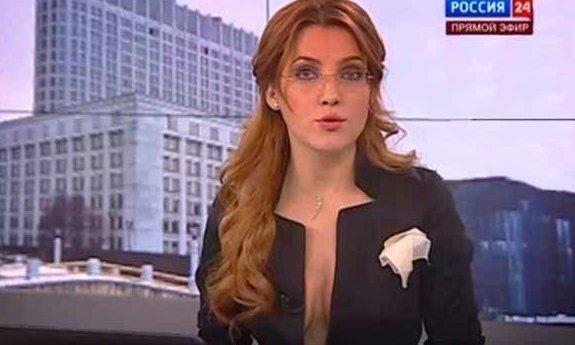 """8. Мария Бондарева работает на канале """"Россия-24"""" ведущие, ведущие новостей, девушки, красиво"""