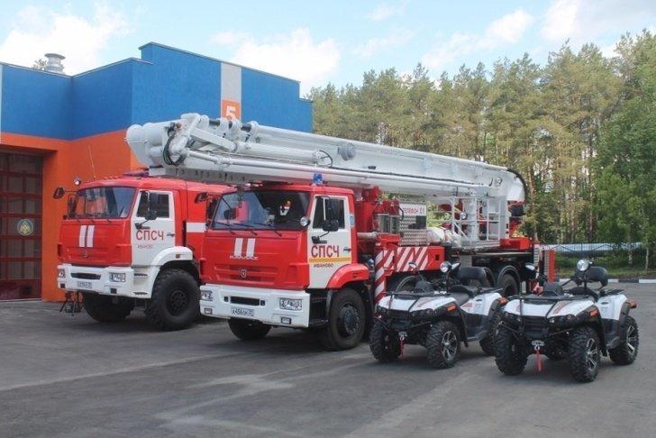 В Ивановской области открыта новая пожарно-спасательная часть Хорошие, добрые, новости, россия, фоторепортаж