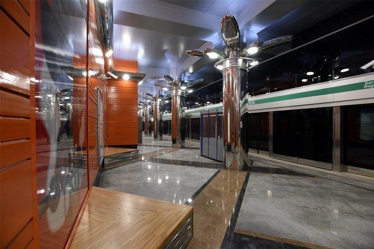 В Санкт-Петербурге открыли две новые станции метро Хорошие, добрые, новости, россия, фоторепортаж