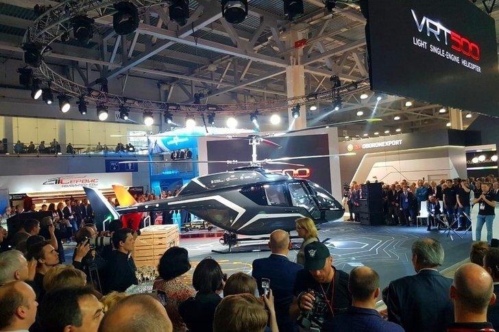 В Москве представлен новый легкий многоцелевой российский вертолет Хорошие, добрые, новости, россия, фоторепортаж