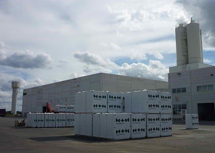 Компания «H+H Россия» экспортировала в Великобританию более 20 тыс. кубометров газобетона Хорошие, добрые, новости, россия, фоторепортаж