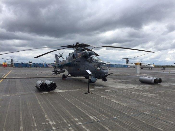 Россия и Казахстан подписали новый контракт на поставку четырех вертолетов Ми-35М Хорошие, добрые, новости, россия, фоторепортаж
