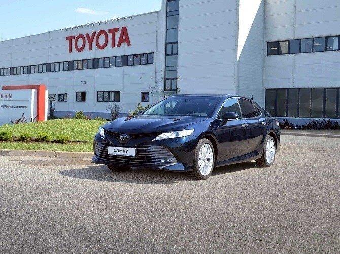 В Санкт-Петербурге дан старт производству Toyota Camry нового поколения Хорошие, добрые, новости, россия, фоторепортаж