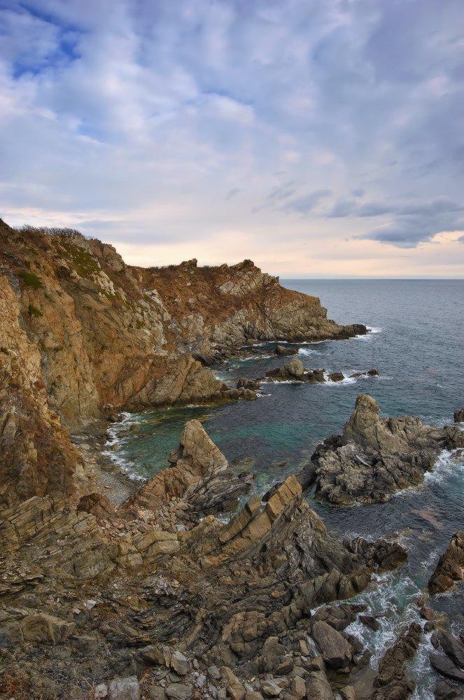 Мыс Пассека, залив Восток, Японское море Майские картинки, природа, фото