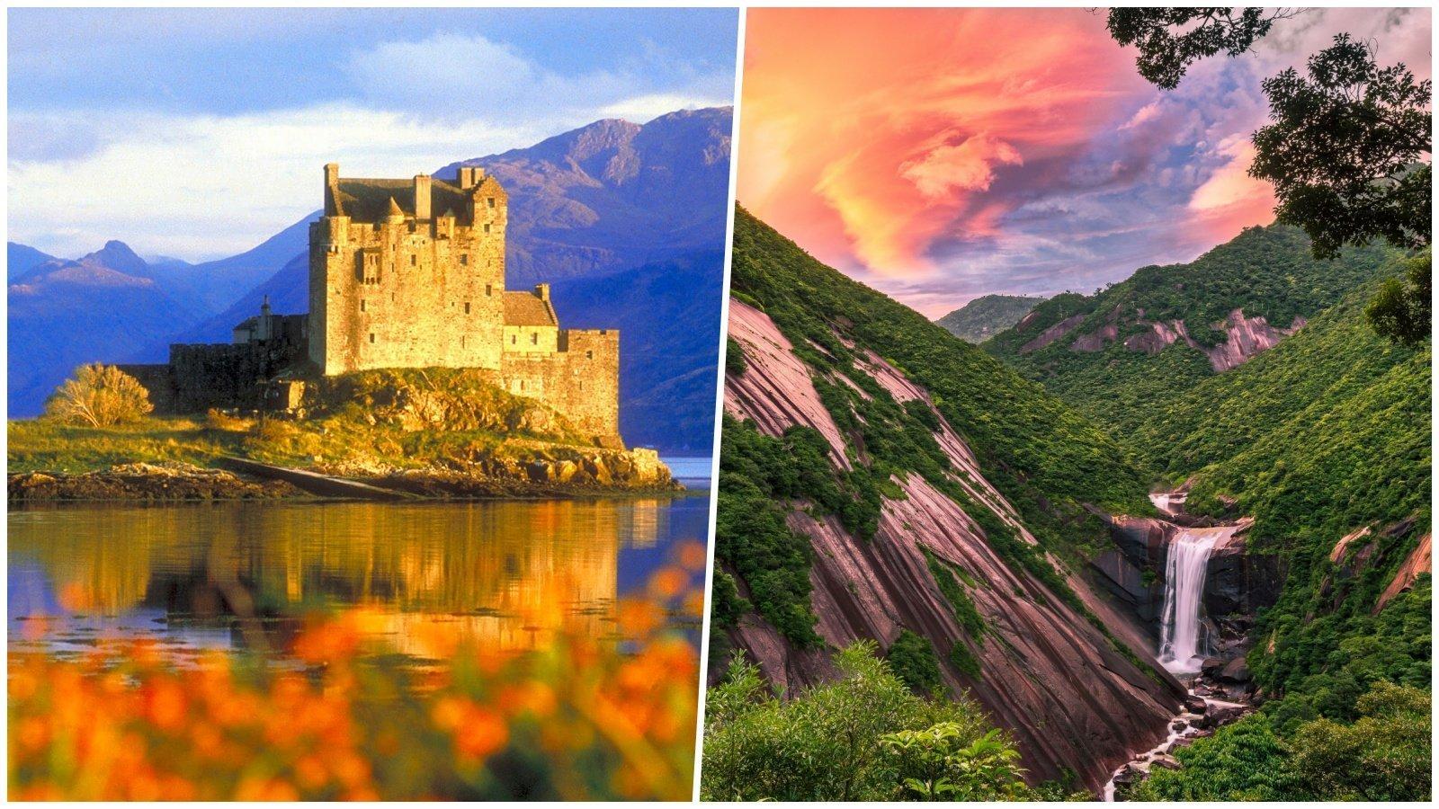 25 сказочных мест, которые существуют в реальности красивые места, мир, природа, путешествия, сказка
