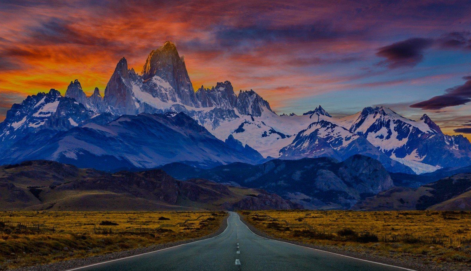 Торрес-дель-Пайне, Чили красивые места, мир, природа, путешествия, сказка