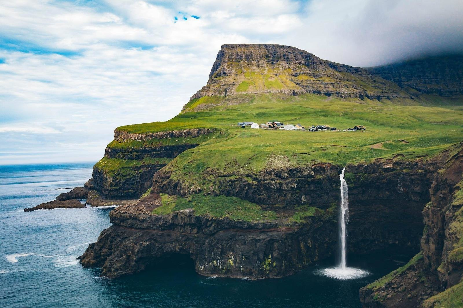 Гасадалур, Дания красивые места, мир, природа, путешествия, сказка