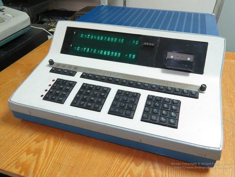 """""""Электроника С50"""" — программируемый калькулятор. Программы для него писали на магнитофонные ленты. 1977 год СССР, гаджет, история, стиралка, техника, факты"""