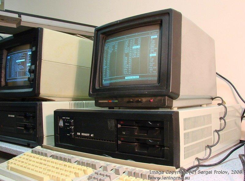 """Ну и напоследок, еще один компьютер — """"Квант 4С"""". Был оснащен жестким диском емкостью в 1 мегабайт! СССР, гаджет, история, стиралка, техника, факты"""